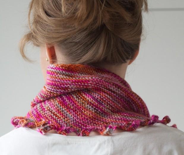 Martina Behm Miss Winkle Shawlette Knitting