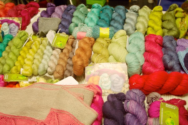 Handdyed gorgeousness by Nature's Luxury