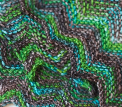 "Club Color ""Myrsky"" by Handu Yarns from Finnland, Strickmich! Club 2015"